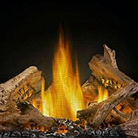 Gas Fireplace Logs Filler