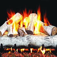 Birch Gas Log Sets