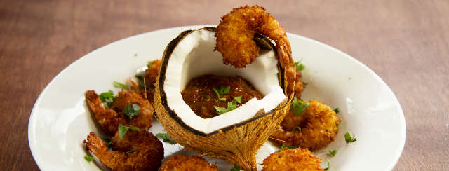 Fried Coconut Shrimp With Chipotle Adobo Sauce Recipe Video