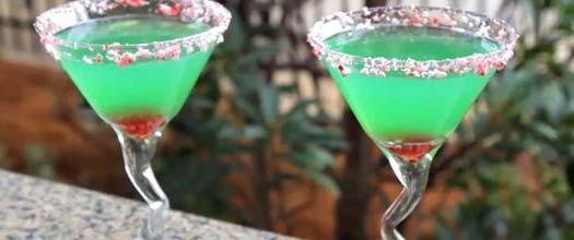 Grinch Martini Drink Recipe