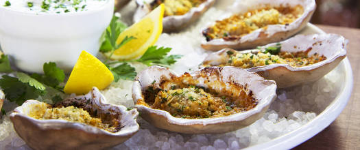 Char-Grilled Buffalo Style Oysters On The Half Shell Recipe Video