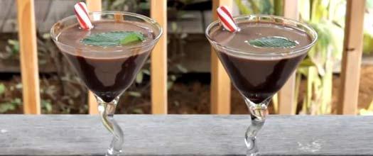 Thin Mint Martini Drink Recipe
