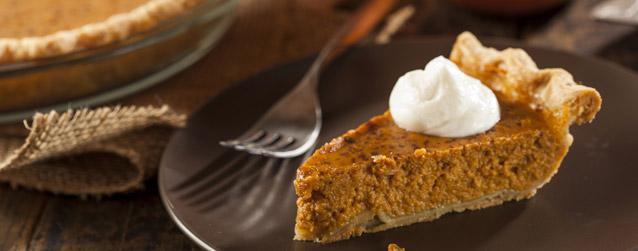 Homemade Pumpkin Pie Baked on Kamado Grill