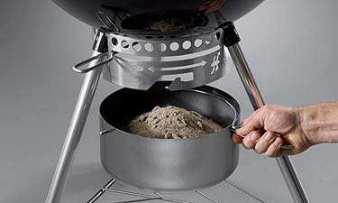 Weber One-Touch Cleaning