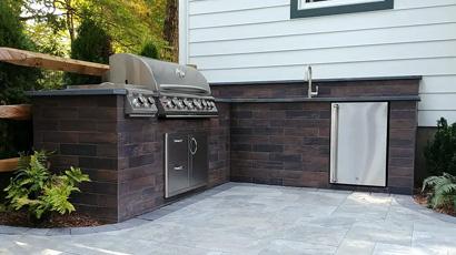 Pheasant Lane Designs Outdoor Kitchen