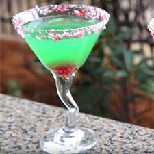 Holiday Grinch Martini