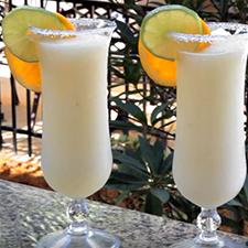 Homemade Frozen Margarita