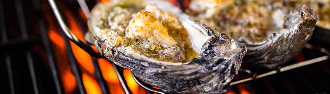 Tequila Lime Char Grilled Oysters