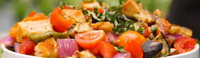 Grilled Panzanella Salad on the Weber Summit