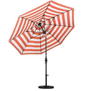 Striped Patio Umbrella