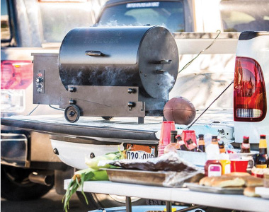 Tailgating with Portable Pellet Grills