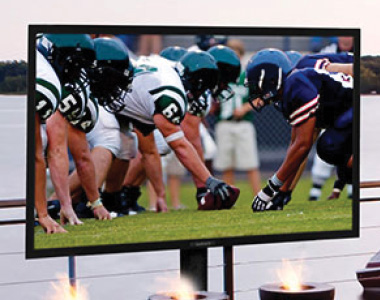 Outdoor TVs make every tailgate better
