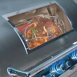 Fire Magic Magic View Window with Rotisserie Burner and Kit